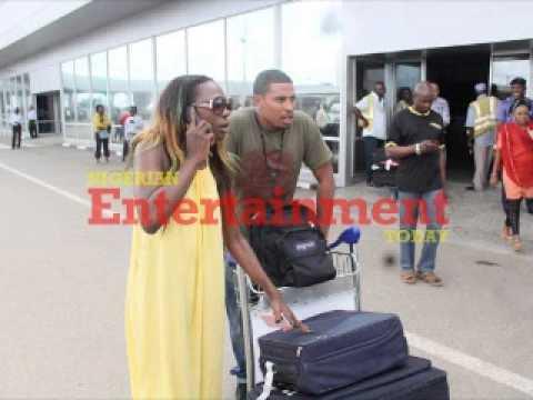 Former BBA Housemate, Bimp, Arrives Nigeria For Beverly Osu's Birthday