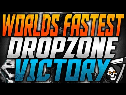 WORLD'S FASTEST DROP ZONE VICTORY IN GHOSTS! (83 Sec)