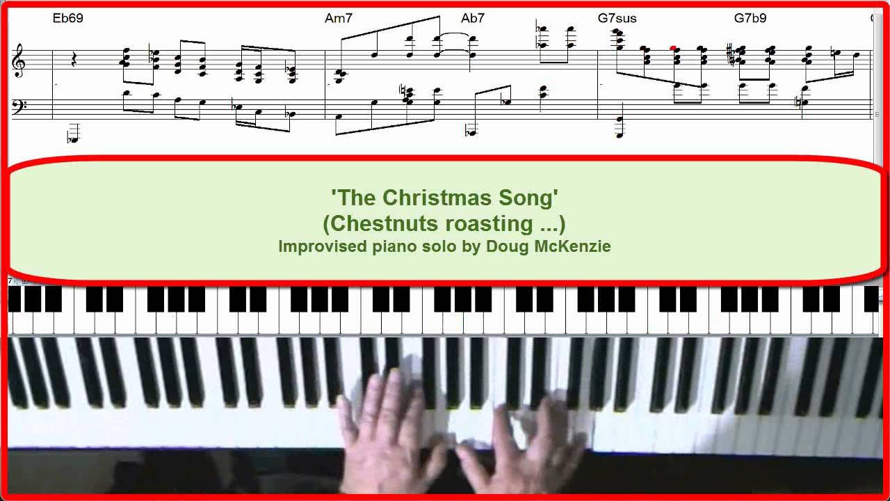 'The Christmas Song' - Jazz piano tutorial. - YouTube