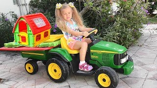 Roma and Diana Pretend Play with toys and Playhouse, Top Videos by Kids Roma Show!