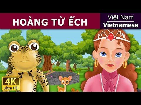 HOÀNG TỬ ẾCH - Chuyện kể đêm khuya - Phim hoạt hình - 4K UHD - Vietnamese Fairy Tales