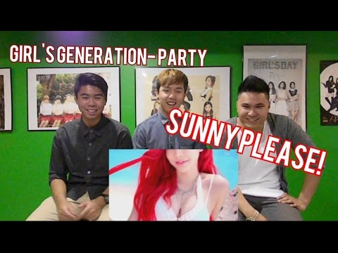 GIRLS' GENERATION - PARTY MV REACTION (FUNNY FANBOYS)