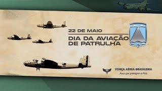 Vídeo homenageia Aviação de Patrulha da FAB, que celebra sua data em 22 de maio. Os militares dessa aviação têm a responsabilidade de vigiar 24 horas por dia uma área de aproximadamente 13,5 milhões de quilômetros quadrados sobre o litoral brasileiro.