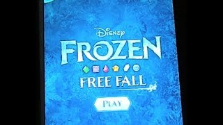 DISNEY FROZEN FREE FALL IPAD APP