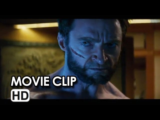 The Wolverine Movie CLIP - Logan vs Shingen Yashida (2013) - Hugh Jackman Movie HD