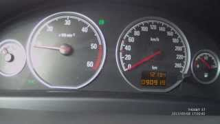 Vectra C 1.9 Cdti 150 HP (Z19DTH) Stock Acceleration