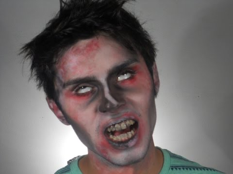 Maquillaje de Zombie SIN BROCHAS // Easy Zombie Make-up with NO BRUSHES