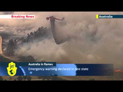 Wildfires burn in Victoria and South Australia