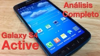 Review Samsung Galaxy S4 Active Análisis Completo
