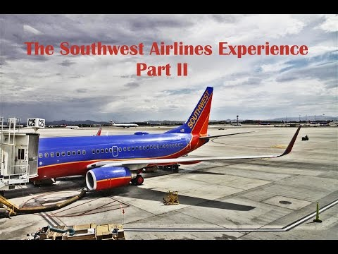 The Southwest Airlines Experience Part II: Boeing 737 Classic!