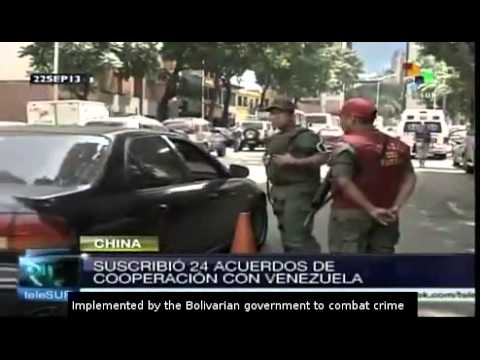 Venezuela signs 24 new agreements with China