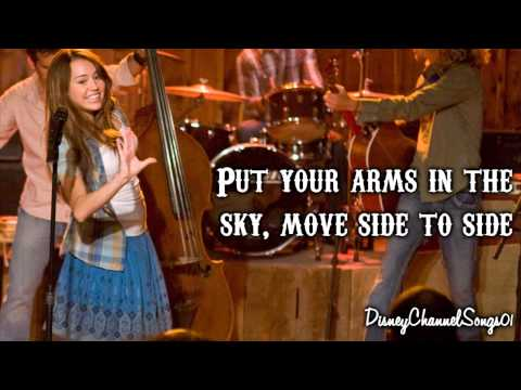 Hannah Montana The Movie - Hoedown Throwdown [ With Lyrics ]