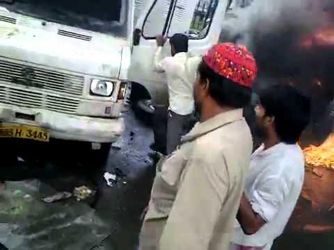 Azad Maidan Mumbai Muslim Riots 2012 - What Media will Never Show