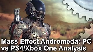 Mass Effect: Andromeda - PC vs PS4/Xbox One Graphics Comparison