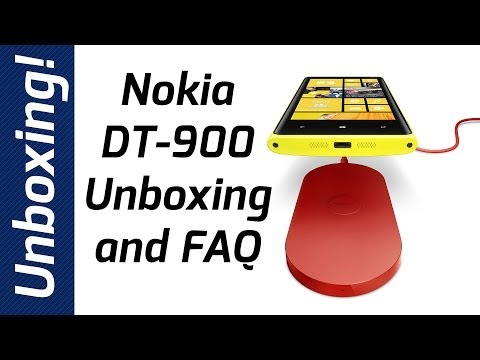 Nokia DT-900 Wireless Charger Unboxing and FAQ