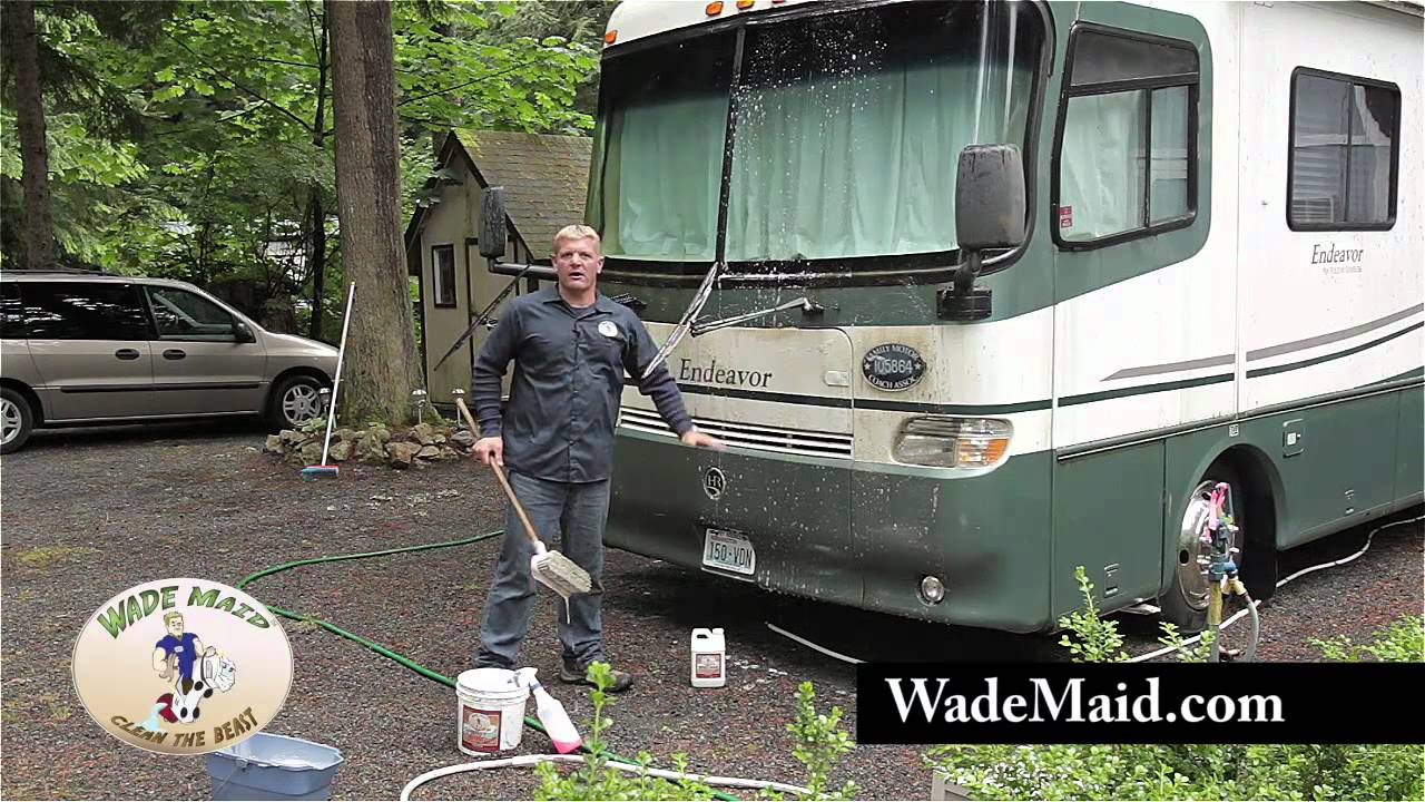 Part 2 Washing A Dirty Rv With Beast Wash Youtube
