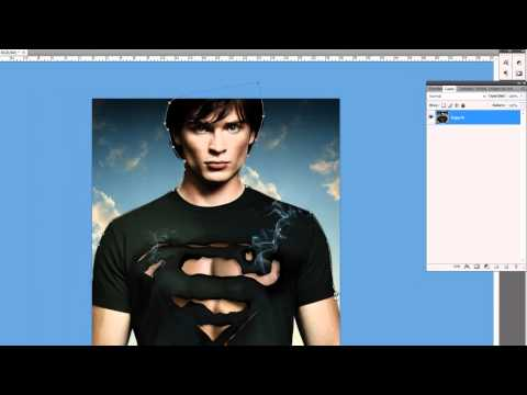 Tutorial Photoshop - Superposicion de Fondo en Imagen o fotomontaje HD