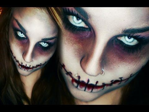 Last minute! SCHNELLES & EINFACHES HORROR / ZOMBIE HALLOWEEN / KARNEVAL MAKE-UP