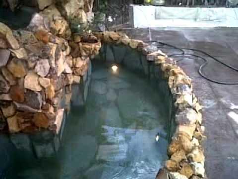 Fuente de pared en piedra youtube - Fuentes de piedra ...