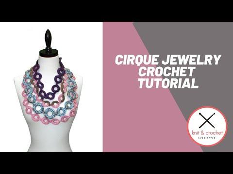 Left Hand Crochet Jewelry Free Pattern Workshop