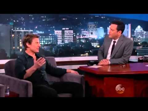 Tom Cruise interview with Jimmy Kimmel about Edge of Tomorrow