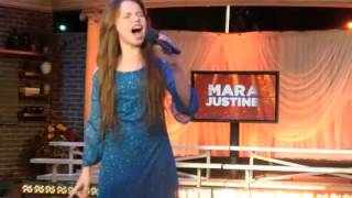 Mara Justine On Maurys Most Talented Kid Show Rehearsal