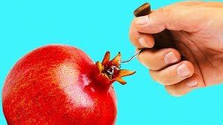 24 LIFE HACKS FOR FRUITS