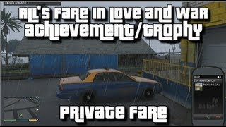 GTA V All's Fare In Love And War Achievement/Trophy