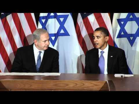PM Netanyahu and President Obama Hold Joint Press Briefing at UN