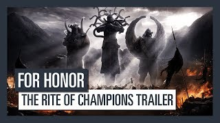 For Honor - The Rite of Champions Trailer