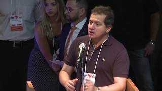 Simplício Araújo fala na Convenção Nacional do Solidariedade