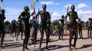 Mundari Dance From South Sudan