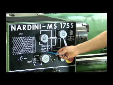 CURSO  DE TORNEIRO  MECÂNICO- AULA  4 (vídeo 1) TORNEARIA  Preparar o  RPM  -Prof.  Maércio