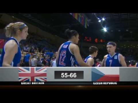 Highlights GBR v CZE EBW 2013