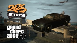 [Grand Theft Auto IV  - Airport Stunt]