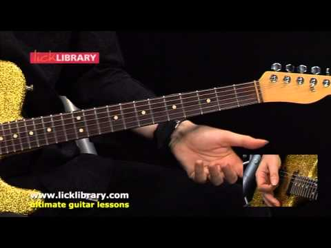 10 Years Gone - Guitar Lesson With Michael Casswell Licklibrary