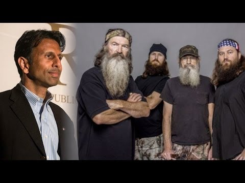 A&E Dumps Phil Robertson of 'Duck Dynasty'; Bobby Jindal Comes to His Defense