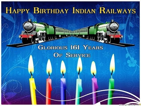 HAPPY BIRTHDAY INDIAN RAILWAYS: A TRIBUTE TO WAP-4 PASSENGER LOCOMOTIVE OF INDIAN RALWAYS