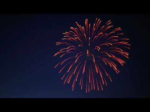 Commerce Michigan Lake Fireworks - 4th of July - Merica