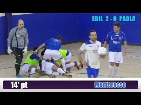 Serie C1, Edilferr - Paola 6-3 (16/01/16)
