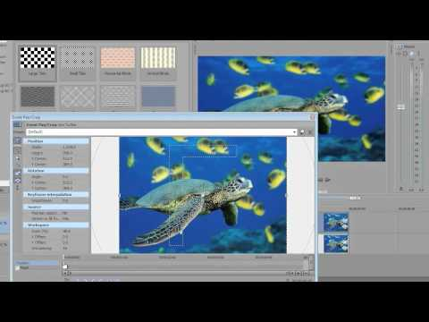 Sony Vegas Pro 10: 2D to 3D Picture Animation