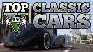 GTA V Top 5 Classic Cars (BF Surfer, JB700, Monroe