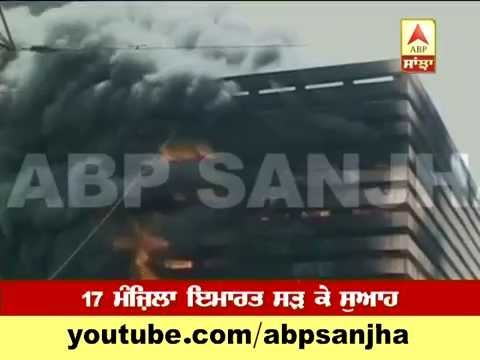Major fire breaks out at textile market in Surat