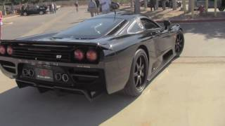 Saleen S7 Twin Turbo with engine start up