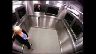 Very Scary Elevator Ghost Prank SO FUNNY Watching People