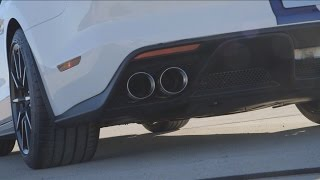 LOUD!! 2016 Shelby GT350 Exhaust Sound