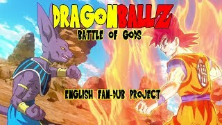 Dragon Ball Z: Battle Of Gods Funimation English Dub