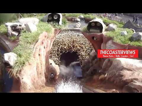 Splash Mountain (HD Front-Seat POV) Disneyland California, Become a fan of my Facebook page! http://www.facebook.com/TheCoasterViews Thank you Disney Park Audios for the splash mountain intro song. A Front Seat POV O...