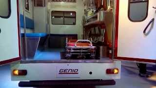 Mahindra Genio Ambulance at 12th Auto Expo 2014 The Motor Show Greater Noida