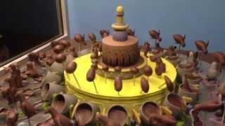 A ilusão de ótica que dá vida aos pinguins de chocolate!